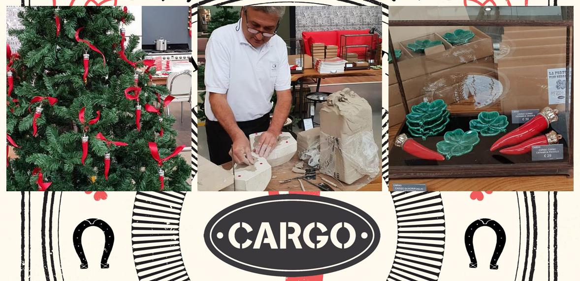 Virginia Casa - Presentazione Collezioni Natalizie da Cargo