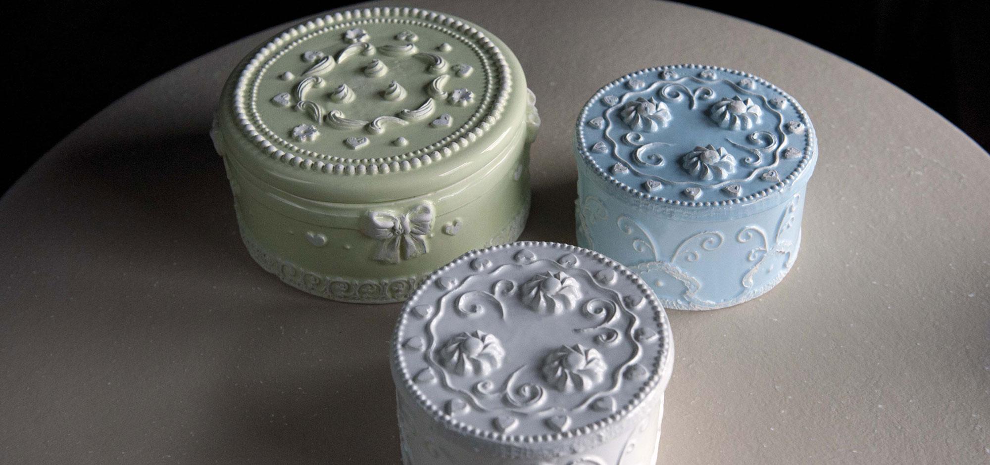 Virginia casa ceramiche artistiche toscane vetro arredo - Pasticceria da bagno ...